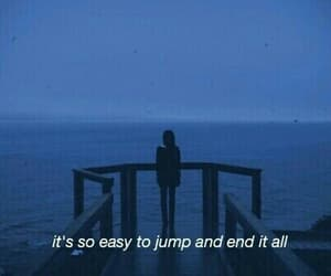sad, grunge, and jump image