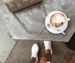 bag, fashion, and latte image