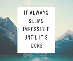 goals, impossible, and Just Do It image