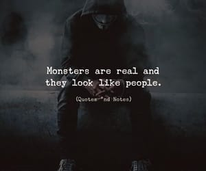 alone, deep, and monsters image