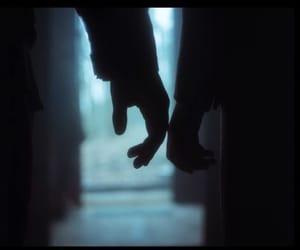 couple, dark, and alone image