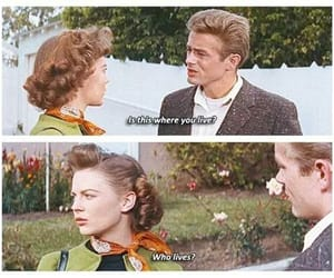 natalie wood, rebel without a cause, and james dean image