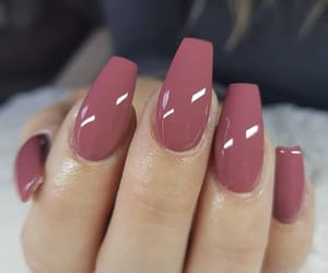 beauty, hand, and long nails image