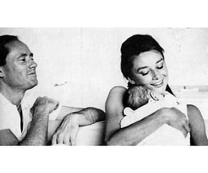 audrey hepburn, baby, and family image