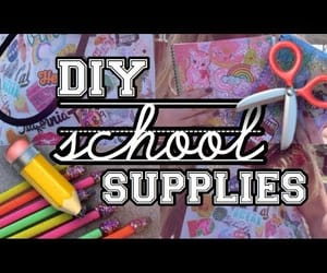 catherine, school supplies, and video image