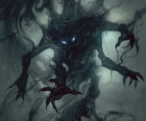 demon, ethereal, and fantasy image