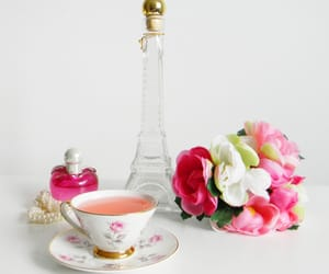 france, romantic, and tea image