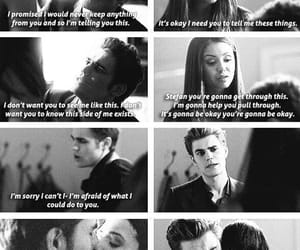 stefan, i'm sorry, and elena gilbert image