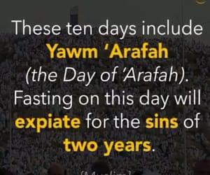 fasting and dhul hajj image