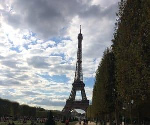 eiffel, paris, and france image