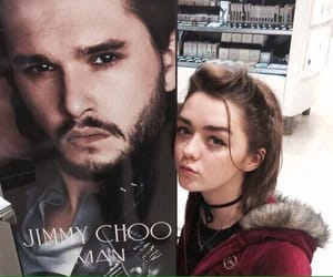 celebrity, game of thrones, and kit harington image