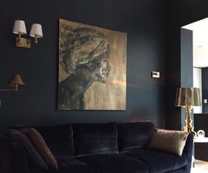 black, blue, and design image