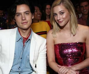 couples, cole sprouse, and lili reinhart image