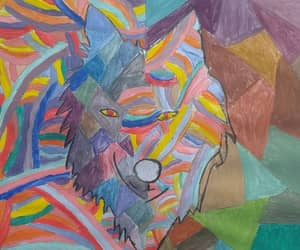 bipolar, wolf, and colors image