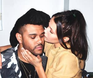bella hadid, the weeknd, and couple image