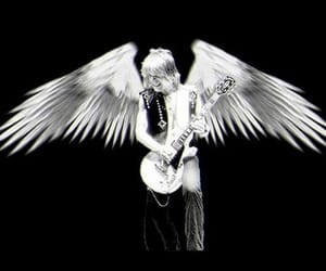 angel, classical, and guitarist image