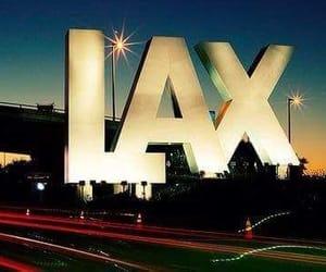 LAX, los angeles, and la image