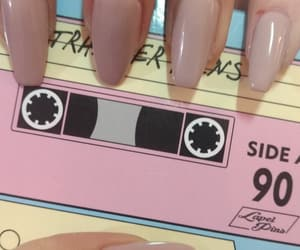 aesthetic, cassette, and nails image