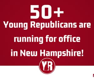 New Hampshire, holly beene seal, and young republicans image