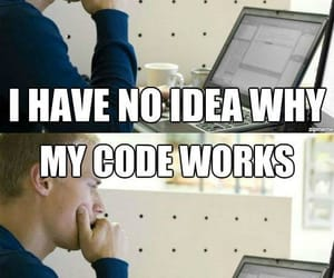 coding, works, and doesn't work image
