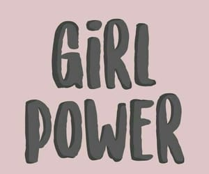 wallpaper, girl power, and pink image