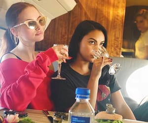 riverdale, madelaine petsch, and camila mendes image