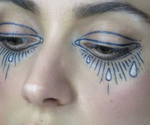 aesthetic, art, and makeup art image