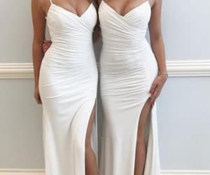 dress, fashion, and long dress image