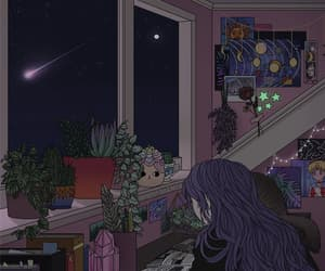 art, sailor moon, and books image