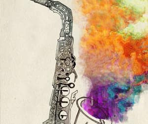 jazzy, music, and musical instrument image