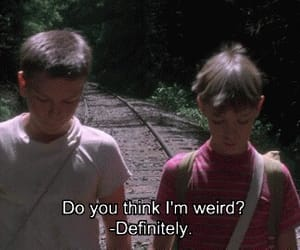 stand by me, weird, and boy image