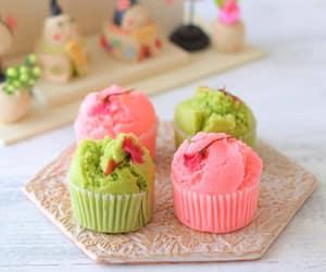 cupcake, pastel, and kawaii food image