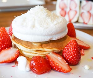breakfast, desserts, and japanese sweets image