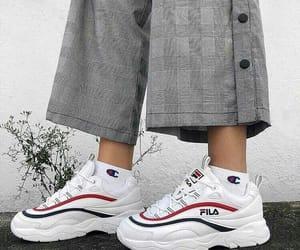 fashion, Fila, and shoes image
