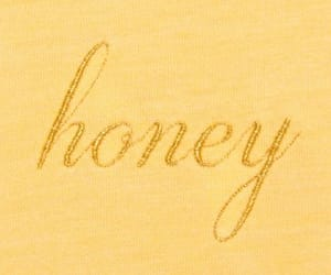 yellow, honey, and aesthetic image