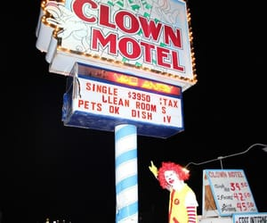 aesthetic, america, and clown image