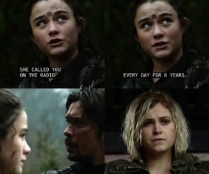 madi, the 100, and clarke image
