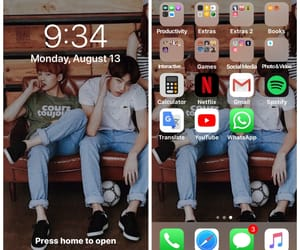 phone, cute, and yoongi image