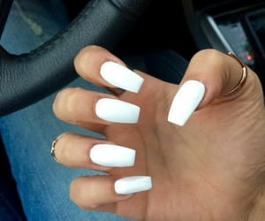 car, nails, and white image