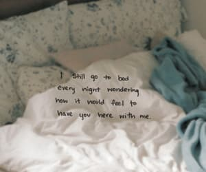 love, bed, and quotes image