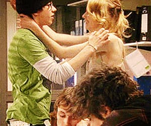 gif, sid and cassie, and kiss image