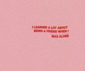 pink, quotes, and red image