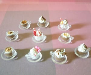 coffee cups, miniature, and miniature drinks image