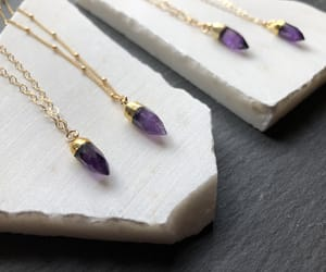 amethyst, boho, and delicate image