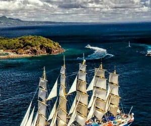 sailboats, ocean photography, and royal clipper image