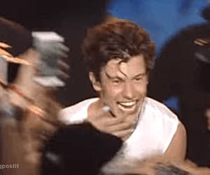 funny face, gif, and singer image