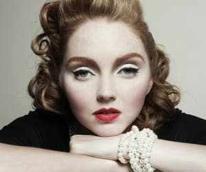 Lily Cole and redhead image