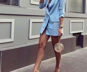 blue, fashion, and girls image