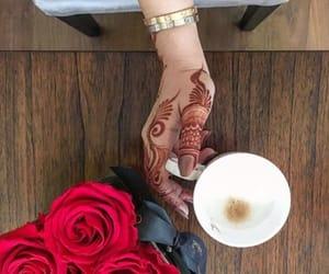 arab, henna, and oman image