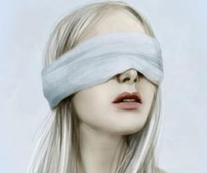 blind and girl image
